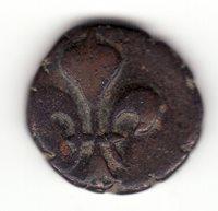 Indes Françaises, Pondichery, nice copper Doudou ND Louis XV (1715-1774)