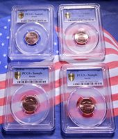 2016 2017 2018 2019 P+D Lincoln Shield Set ~ Business Mint Strike from Bank Roll