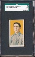 "1909-11 T206: Roy Brashear ""Portrait, Kansas City"" Piedmont 350 SGC A Beautiful"