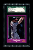 1988 CORY SNYDER SCORE WRONG BACK EDDIE MURRAY SGC 84 NM 7