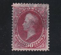 US 155 90c Perry Used F-VF SCV $325