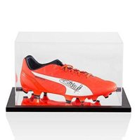 4005fb7fedd Thierry Henry Signed Football Boot In Acrylic Display Case Autograph Cleat  - Autographed Soccer Cleats