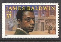 3871 37c James Baldwin Plate Block[3871pb]