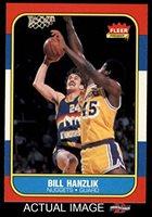 44f8359d2 1986 Fleer   43 Bill Hanzlik Denver Nuggets (Basketball Card) Dean s Cards  8 - NM MT