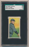 1909 T206 Sweet Caporal. Cy Young. SGC 20 Fair 1.5. Bare Hand Shows