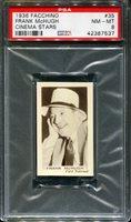 1936 FACCHINO CINEMA STARS #35 FRANK McHUGH POP 1 PSA 8 N2652327-537
