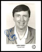 Don Casey Autographed Team Issued 8x10 Photo Boston Celtics Assistant Coach SKU #190538Don Casey Autographed Team Issued 8x10 Photo Boston Celtics Assistant Coach SKU #190538