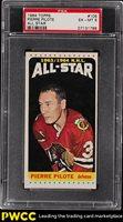 1964 Topps Hockey Pierre Pilote ALL-STAR #109 PSA 6 EXMT (PWCC)