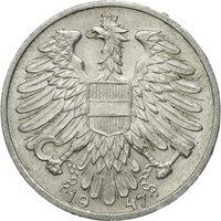 Coin, Austria, Schilling, 1947, EF(40-45), Copper-nickel, KM:Pn115