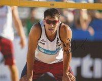 David McKienzie AVP Beach Volleyball signed 8x10 photo Team USA autographed 2