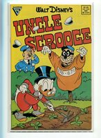 UNCLE SCROOGE #226 BARKS AND ROSA SAME ISSUE HI GRADE HILARIOUS COVER