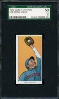 1909 T206 Sweet Caporal REBEL OAKES - Cincinnati - SGC 60 / 5