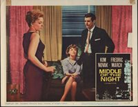 MIDDLE OF THE NIGHT original 1959 lobby card KIM NOVAK 11x14 movie poster