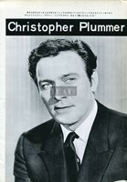 CHRISTOPHER PLUMMER / SUZANNE PLESHETTE 1967 Japan Picture Clipping 8x11 lh/t