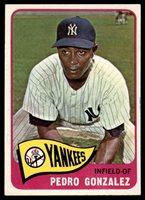 1965 Topps #97 Pedro Gonzalez EX/NM