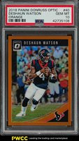 2018 Donruss Optic Orange Deshaun Watson /199 #40 PSA 10 GEM MINT (PWCC)