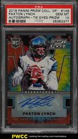 2016 Panini Prizm Collegiate Tie Dyed Paxton Lynch RC AUTO /49 PSA 10 (PWCC)