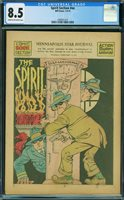 SPIRIT SECTION 2/9/1941 #no number, CGC 8.5 VF+, HIGHEST GRADED, 1 OF 2 - The Auction Has Ended