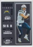 HUNTER HENRY 2017 Panini Contenders Optic Football Base #64 Chargers