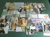 GWYNETH PALTROW - ACTRESS/ FILM STAR - CLIPPINGS /CUTTINGS PACK