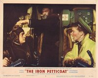 THE IRON PETTICOAT Katharine Hepburn Lobby card 8 Bob Hope