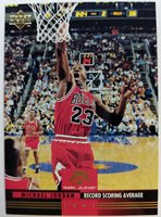 "Rare: 1993 93 Upper Deck Michael Jordan ""Mr. June"" #MJ8 Record Scoring Average"