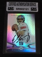 ELI MANNING 2014 TOPPS PLATINUM SIGNED AUTOGRAPHED CARD #2 GIANTS CAS AUTHENTIC
