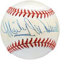 Mickey McDermott Autographed Official AL Baseball Boston Red Sox, New York Yankees Beckett BAS #V62458Mickey McDermott Autographed Official AL Baseball Boston Red Sox, New York Yankees Beckett BAS #V62458