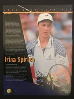 Irina Spirlea Romanian WTA Tour Tennis Player - Signed 8x10 photo - autograph