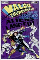 VALOR THUNDERSTAR & His FIREFLIES #1, NM+, Ordway,1986, more indies in store