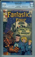 FANTASTIC FOUR #45 1965, 1st full Inhumans; 1st Crystal, Karnak, Triton, Lockjaw and Black Bolt (in cameo)