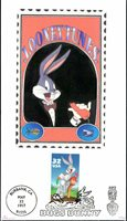 #3137 Bugs Bunny Barre FDC (22219973137003)