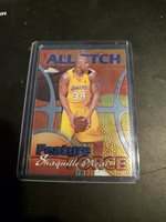 SHAQUILLE O'NEAL SHAQ 1999/00 Topps Chrome ALL ETCH FEATURE FORCE #AE5 Insert