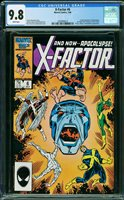 X-FACTOR #6, CGC 9.8 NM/MT - The Auction Has Ended