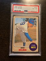 1968 TOPPS #556 DICK SELMA *PSA GRADED EX/MT 6 *SHARP* KGC-8828