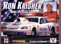 Ron Krisher Nhra Hero Card
