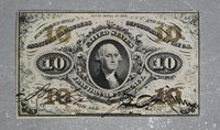 3rd Issue 10 Cent Fractional Currency - FR1253- CU Note!!