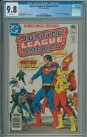 JUSTICE LEAGUE OF AMERICA #179 1980; 1st Appearance of Satin Satan, Firestorm Joins the JLA
