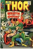 THOR #147 1967, Thor vs. Loki Cover/Story