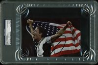 Abby Wambach USA Olympics Authentic Signed 4x6 Autographed PSA/DNA Slabbed