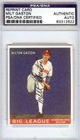 Milt Gaston Autographed 1933 Goudey Reprint Card #65 Chicago White Sox PSA/DNA #83312622Milt Gaston Autographed 1933 Goudey Reprint Card #65 Chicago White Sox PSA/DNA #83312622