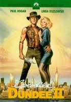 CROCODILE DUNDEE 2 Movie POSTER 27x40 C Paul Hogan Linda Kozlowski Jace