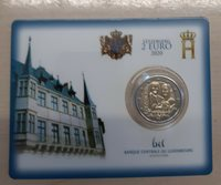 Luxembourg Coincard 2021 100. Birthday From Jean Only 7.500 Piece