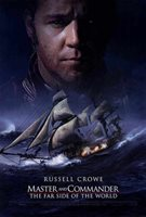 MASTER AND COMMANDER: THE FAR SIDE OF THE WORLD Movie POSTER 27x40 Russell Crowe