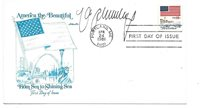 1981 FDC Signed by Boxer Max Schmeling NICE!