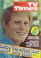 TV TIMES MAGAZINE Dec 9 1978 Ron Howard Kate Bush centerfold