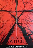 BLAIR WITCH original german 1 sheet mediathek poster 2016