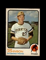 1973 BOB JOHNSON OPC #657 O-PEE-CHEE PIRATES *G6690