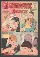 Romantic Secrets #47 1963-Charlton-Dick Giordano wedding cover-FN/VF   Comic Books - Silver Age, Charlton, Rom, Romance