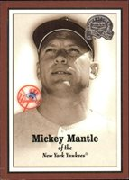 2000 Greats of the Game #1 Mickey Mantle - NM-MT